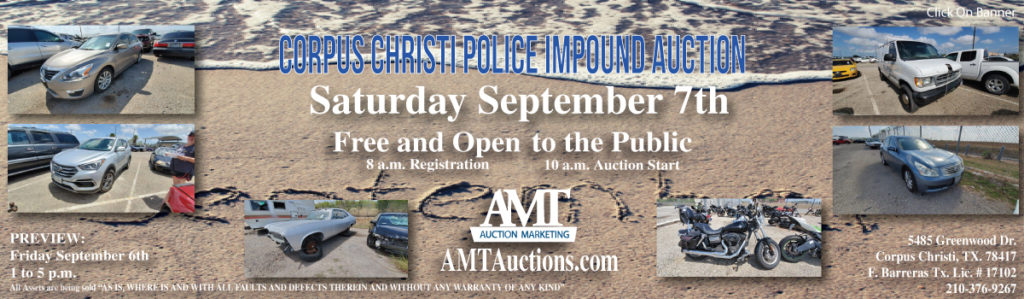 CCPD Impound Auction 9-7-2019